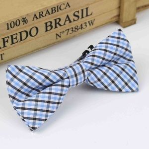 Other - Boys Toddler Blue & Black Plaid Bow Tie